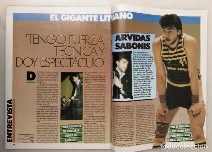 Coleccionismo deportivo: Colección de 115 de las 131 primeras revistas Gigantes del Basket (1985-88) + Especial Jordan - Foto 23 - 162988738