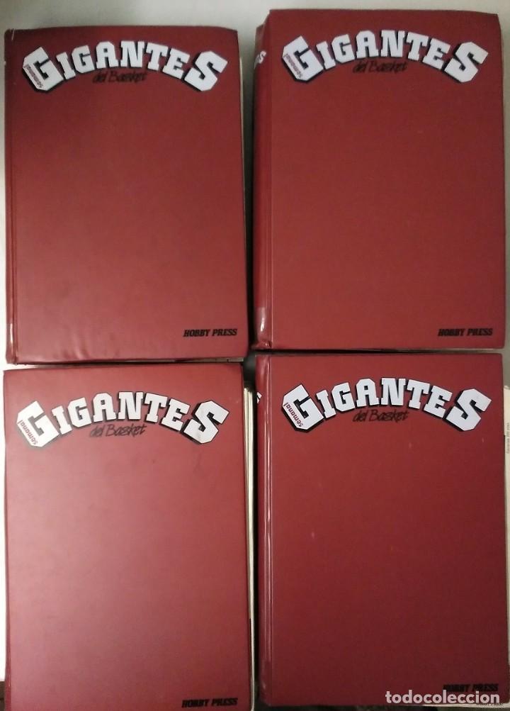 COLECCIÓN DE 115 DE LAS 131 PRIMERAS REVISTAS ''GIGANTES DEL BASKET'' (1985-88) + ESPECIAL JORDAN (Coleccionismo Deportivo - Revistas y Periódicos - otros Deportes)