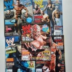 Coleccionismo deportivo: LOTE WWE MAGAZINE. Lote 209779433