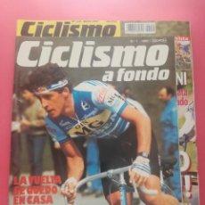 Coleccionismo deportivo: REVISTA CICLISMO A FONDO ESPECIAL Nº 150 1997 INCLUYE REPRODUCCION FACSIMIL NUMERO 1 1985. Lote 209937427