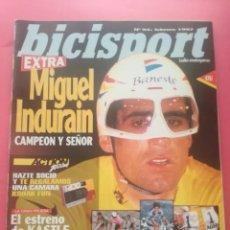 Coleccionismo deportivo: REVISTA BICISPORT EXTRA 1997 - ESPECIAL RETIRADA MIGUEL INDURAIN - POSTER - FOTOS. Lote 209937921