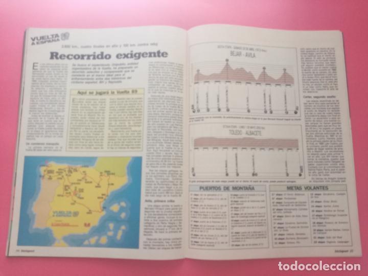 Coleccionismo deportivo: REVISTA BICISPORT Nº 1 1989 - ESPECIAL PREVIO VUELTA CICLISTA A ESPAÑA 89 - POSTER PEDRO DELGADO - Foto 6 - 209938228