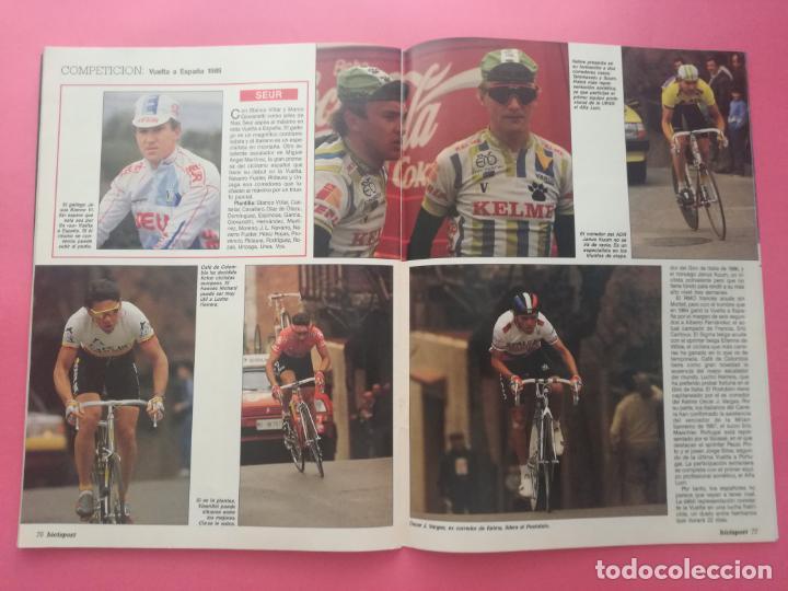 Coleccionismo deportivo: REVISTA BICISPORT Nº 1 1989 - ESPECIAL PREVIO VUELTA CICLISTA A ESPAÑA 89 - POSTER PEDRO DELGADO - Foto 9 - 209938228