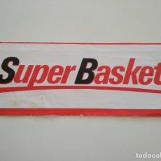 Coleccionismo deportivo: PEGATINA REVISTA SUPERBASKET. Lote 209971391