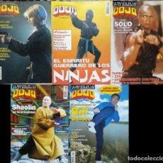Coleccionismo deportivo: LOTE DE CINCO REVISTAS DE ARTES MARCIALES ''DOJO''. Lote 210430386