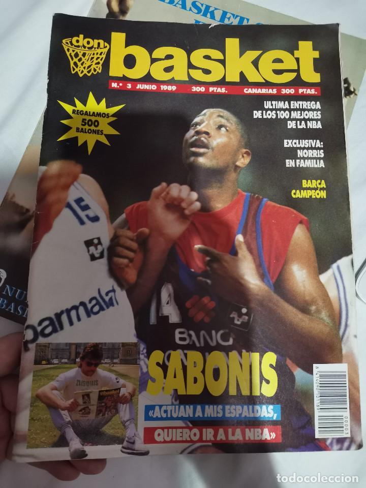 OCASION COLECCIONISTAS REVISTA BALONCESTO JUNIO 1989 DON BASKET BARCELONA CAMPEON POSTER CENTRAL NBA (Coleccionismo Deportivo - Revistas y Periódicos - otros Deportes)