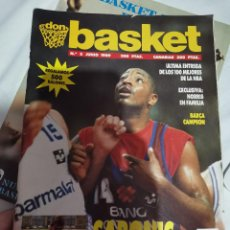 Coleccionismo deportivo: OCASION COLECCIONISTAS REVISTA BALONCESTO JUNIO 1989 DON BASKET BARCELONA CAMPEON POSTER CENTRAL NBA. Lote 210447823