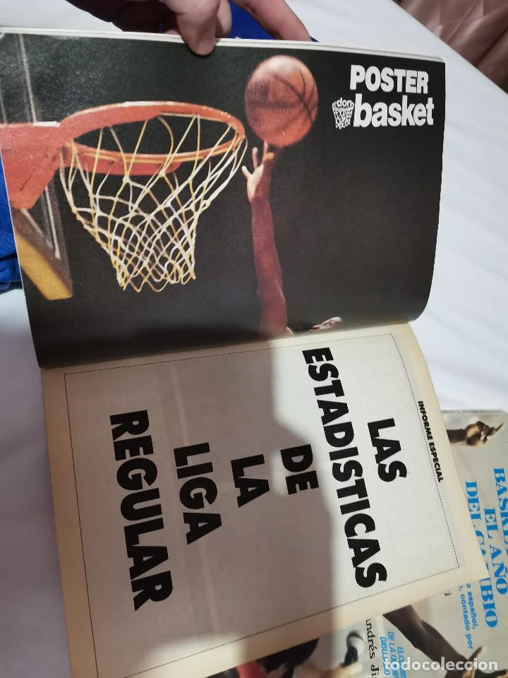 Coleccionismo deportivo: OCASION COLECCIONISTAS REVISTA BALONCESTO JUNIO 1989 DON BASKET BARCELONA CAMPEON POSTER CENTRAL NBA - Foto 2 - 210447823