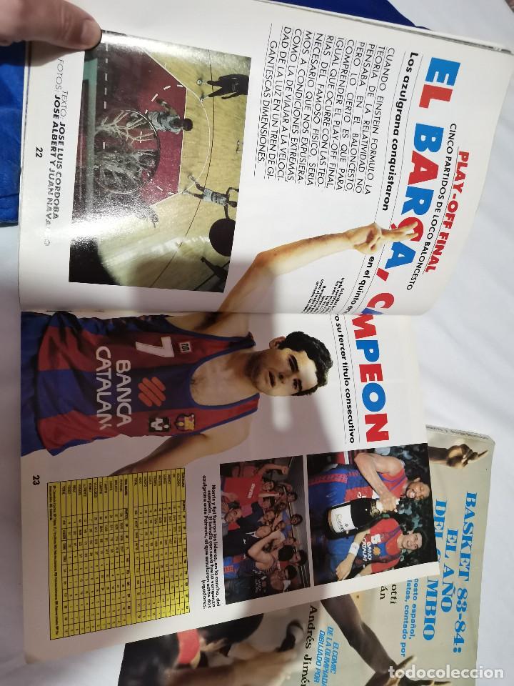 Coleccionismo deportivo: OCASION COLECCIONISTAS REVISTA BALONCESTO JUNIO 1989 DON BASKET BARCELONA CAMPEON POSTER CENTRAL NBA - Foto 3 - 210447823