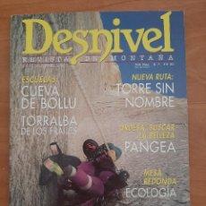 Coleccionismo deportivo: DESNIVEL - REVISTA DE MONTAÑA - Nº 112 ORDESA, CUEVA DE BOLLU...... Lote 210539618