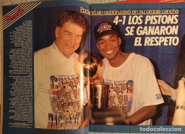 """Coleccionismo deportivo: Detroit Pistons - Revistas Gigantes, Superbasket y Revista NBA"""" - Campeones de 1990 y 2004 - Foto 4 - 203307278"""