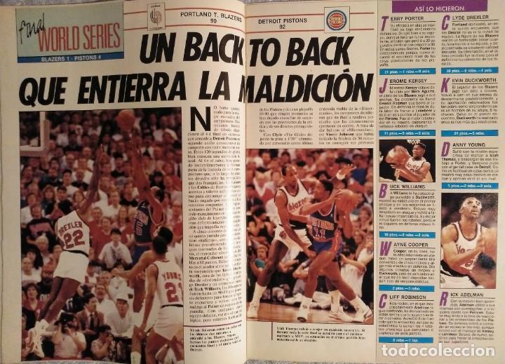 """Coleccionismo deportivo: Detroit Pistons - Revistas Gigantes, Superbasket y Revista NBA"""" - Campeones de 1990 y 2004 - Foto 5 - 203307278"""