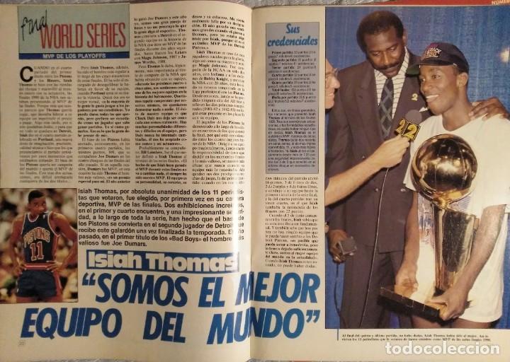 """Coleccionismo deportivo: Detroit Pistons - Revistas Gigantes, Superbasket y Revista NBA"""" - Campeones de 1990 y 2004 - Foto 7 - 203307278"""