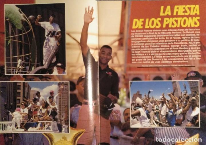 """Coleccionismo deportivo: Detroit Pistons - Revistas Gigantes, Superbasket y Revista NBA"""" - Campeones de 1990 y 2004 - Foto 8 - 203307278"""