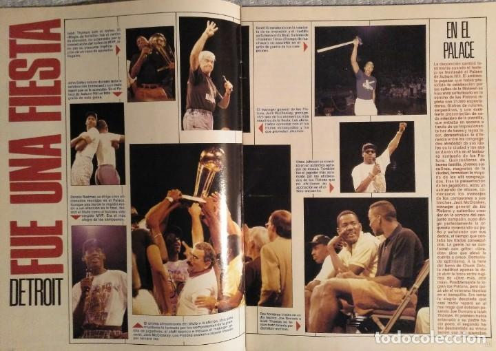 """Coleccionismo deportivo: Detroit Pistons - Revistas Gigantes, Superbasket y Revista NBA"""" - Campeones de 1990 y 2004 - Foto 9 - 203307278"""