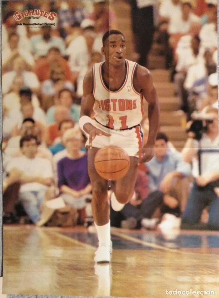 """Coleccionismo deportivo: Detroit Pistons - Revistas Gigantes, Superbasket y Revista NBA"""" - Campeones de 1990 y 2004 - Foto 10 - 203307278"""