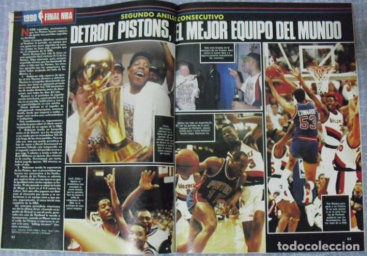 """Coleccionismo deportivo: Detroit Pistons - Revistas Gigantes, Superbasket y Revista NBA"""" - Campeones de 1990 y 2004 - Foto 2 - 203307278"""