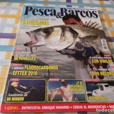 Coleccionismo deportivo: REVISTA PESCA & BARCOS N°22 2010 ESTUARDOS, ISLAS CORAL SEYCHELLES, MINN9W, EMBARCACIÓN ASTINOR 820. Lote 210774935