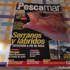 Coleccionismo deportivo: REVISTA PESCAMAR N°46 2007 SERRANOS Y LABRIDOS, SARGOS, CAÑAS DE SURF, LUBINAS. Lote 210776481