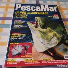 Coleccionismo deportivo: REVISTA PESCAMAR N°55 2007 LLAMPUGAS, CABO TRAFALGAR, CEBO ALBIÑOCA, DEPREDADORES GIGANTES ORILLA. Lote 210777924