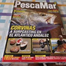 Coleccionismo deportivo: REVISTA PESCAMAR N°57 2007 OBLADAS,MEROS,CONCHA FINA, CORVINAS, ANISAKIS. Lote 210778821
