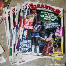 Coleccionismo deportivo: PRECIO UNIDAD REVISTAS BALONCESTO AÑO 1 ENTRE 1985 Y 1989 GIGANTES DEL BASKET . VER NUMEROS. Lote 210943674