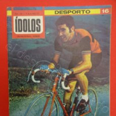 Coleccionismo deportivo: REVISTA IDOLOS. CICLISMO. EDDY MERCK. Nº 16. AÑO 1977. Lote 211391690