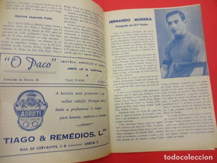 Coleccionismo deportivo: CICLISMO. Historia das Voltas a Portugal. Azes do ciclismo. Revista años 1950s - Foto 2 - 211396881