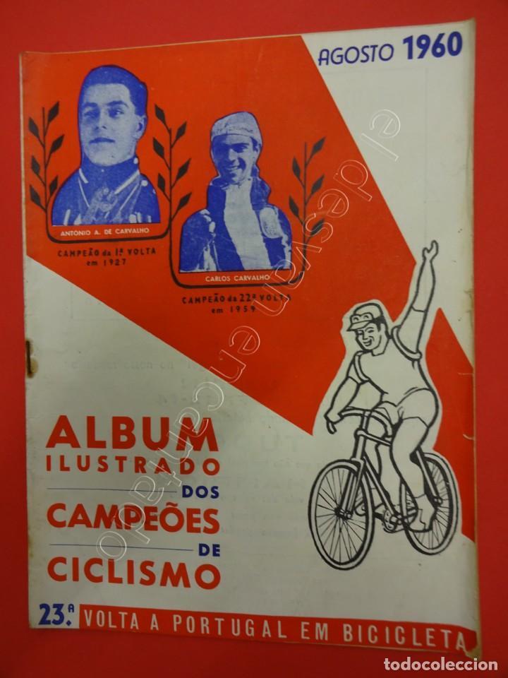 CICLISMO. ALBUM ILUSTRADO DOS CAMPEOES DE CICLISMO. AGOSTO 1960. REVISTA (Coleccionismo Deportivo - Revistas y Periódicos - otros Deportes)
