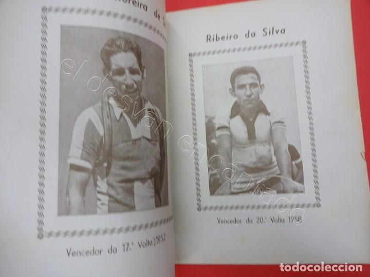 Coleccionismo deportivo: CICLISMO. Album ilustrado dos campeoes de ciclismo. Agosto 1960. Revista - Foto 2 - 211396939