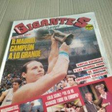 Coleccionismo deportivo: GIGANTES DEL BASKET N124. Lote 211490312