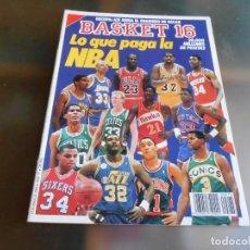 Coleccionismo deportivo: REVISTA BASKET 16, Nº 75 (12 MARZO 1989), RECOPA: ASI JUEGA EL SNAIDERO DE OSCAR. Lote 211506145