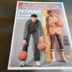 Coleccionismo deportivo: REVISTA BASKET 16, Nº 74 (5 DE MARZO DE 1989), EL BARÇA YA ESTÁ EN LA FINAL FOUR. Lote 211507570