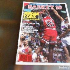 Coleccionismo deportivo: REVISTA BASKET 16, Nº 69 (29 DE ENERO DE 1989), MARTINEZ SANSEGUNDO SALVO LA VIDA EN HOUSTON. Lote 211508082