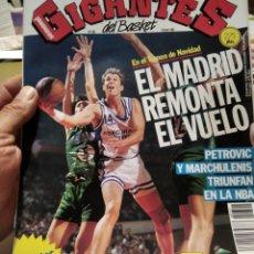 Coleccionismo deportivo: GIGANTES DEL BASKET N322 PÓSTER MAGIC JOHNSON. Lote 211516492