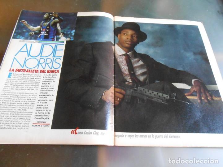Coleccionismo deportivo: REVISTA BASKET 16, Nº 68 (22 de Enero de 1989), NORRIS, LA METRALLETA - NO POSTERS NI SUPLEMENTO - - Foto 2 - 211553986