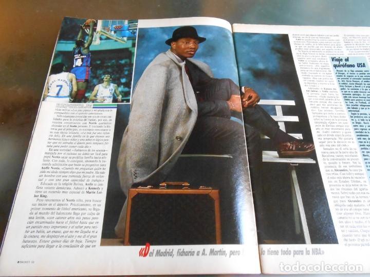 Coleccionismo deportivo: REVISTA BASKET 16, Nº 68 (22 de Enero de 1989), NORRIS, LA METRALLETA - NO POSTERS NI SUPLEMENTO - - Foto 3 - 211553986