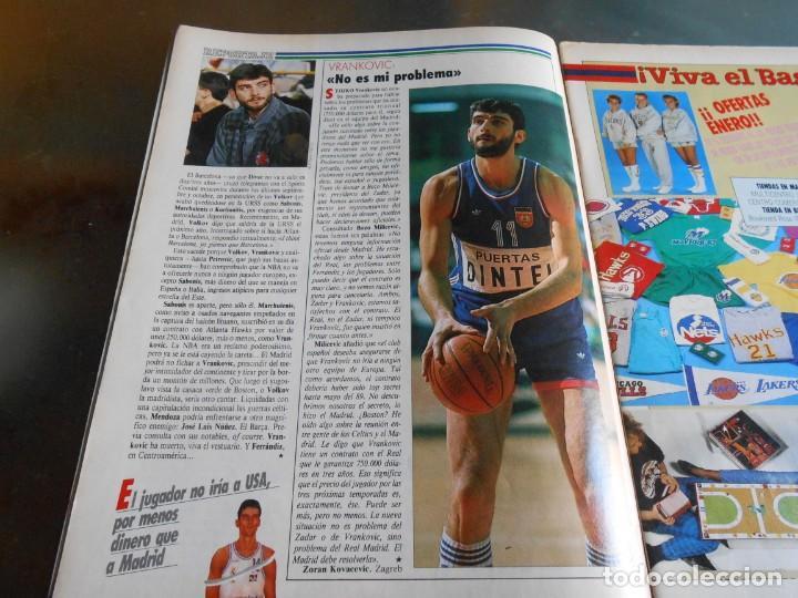 Coleccionismo deportivo: REVISTA BASKET 16, Nº 68 (22 de Enero de 1989), NORRIS, LA METRALLETA - NO POSTERS NI SUPLEMENTO - - Foto 5 - 211553986