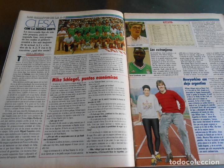 Coleccionismo deportivo: REVISTA BASKET 16, Nº 68 (22 de Enero de 1989), NORRIS, LA METRALLETA - NO POSTERS NI SUPLEMENTO - - Foto 6 - 211553986