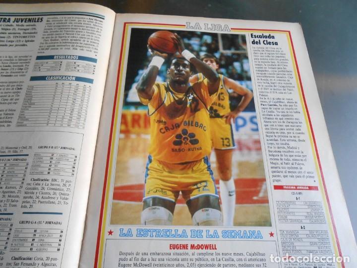 Coleccionismo deportivo: REVISTA BASKET 16, Nº 68 (22 de Enero de 1989), NORRIS, LA METRALLETA - NO POSTERS NI SUPLEMENTO - - Foto 7 - 211553986