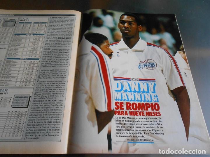 Coleccionismo deportivo: REVISTA BASKET 16, Nº 68 (22 de Enero de 1989), NORRIS, LA METRALLETA - NO POSTERS NI SUPLEMENTO - - Foto 14 - 211553986