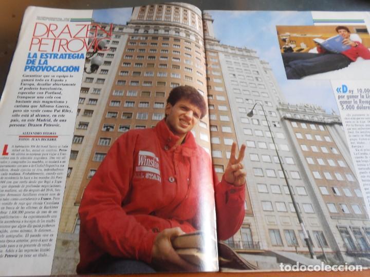 Coleccionismo deportivo: REVISTA BASKET 16, Nº 61 (4 de diciembre de 1988), WAITERS Y NORRIS PIENSAN COPA EUROPA - RECORTE - - Foto 2 - 211556602