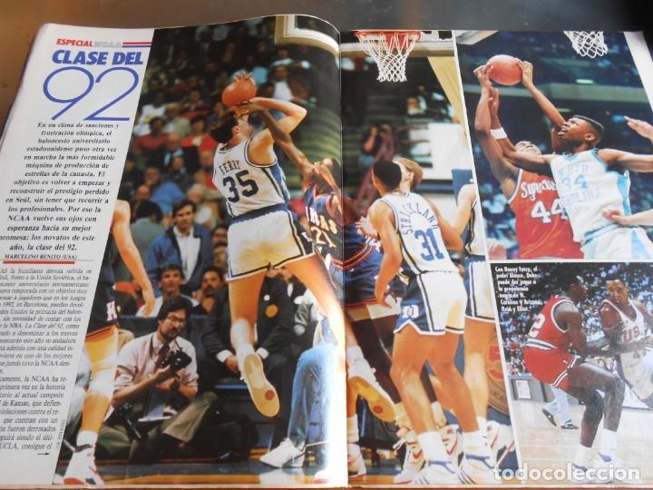 Coleccionismo deportivo: REVISTA BASKET 16, Nº 61 (4 de diciembre de 1988), WAITERS Y NORRIS PIENSAN COPA EUROPA - RECORTE - - Foto 5 - 211556602