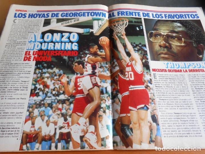 Coleccionismo deportivo: REVISTA BASKET 16, Nº 61 (4 de diciembre de 1988), WAITERS Y NORRIS PIENSAN COPA EUROPA - RECORTE - - Foto 6 - 211556602