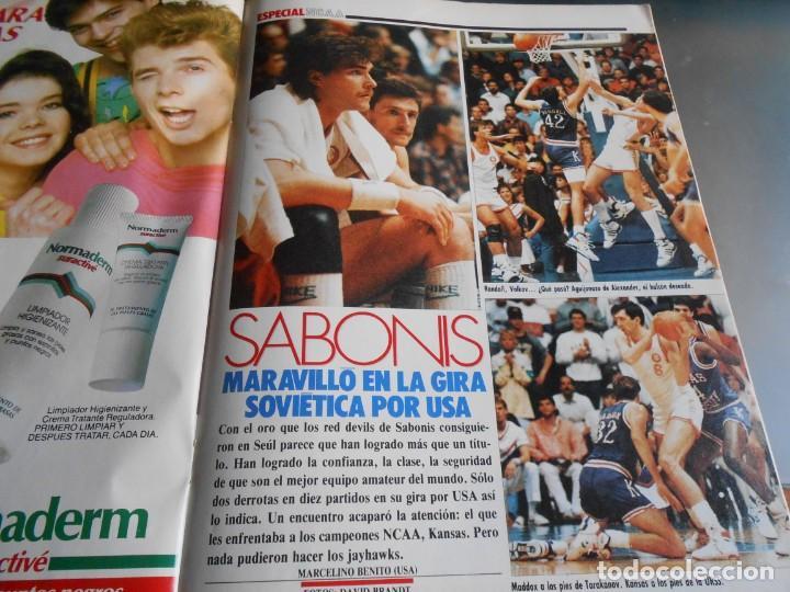 Coleccionismo deportivo: REVISTA BASKET 16, Nº 61 (4 de diciembre de 1988), WAITERS Y NORRIS PIENSAN COPA EUROPA - RECORTE - - Foto 7 - 211556602