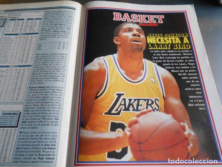 Coleccionismo deportivo: REVISTA BASKET 16, Nº 61 (4 de diciembre de 1988), WAITERS Y NORRIS PIENSAN COPA EUROPA - RECORTE - - Foto 8 - 211556602