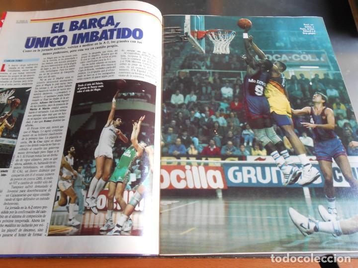 Coleccionismo deportivo: REVISTA BASKET 16, Nº 17 (31 de Enero de 1988), NBA: BATALA CAMPAL EN CHICAGO - Foto 3 - 211557487