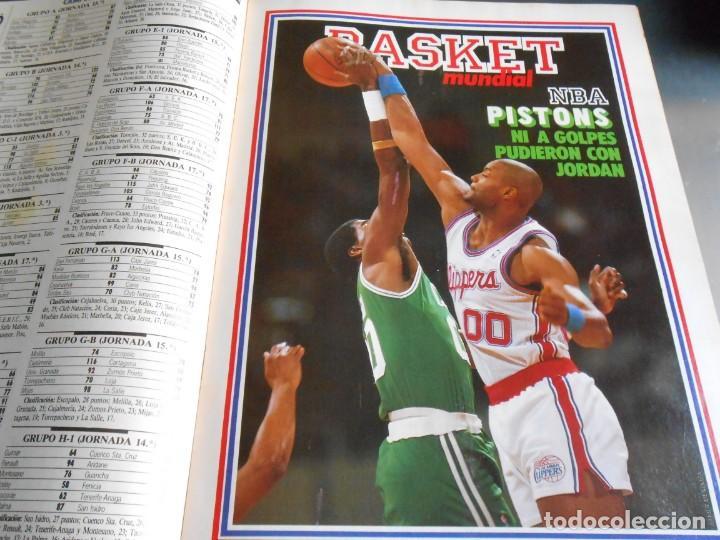 Coleccionismo deportivo: REVISTA BASKET 16, Nº 17 (31 de Enero de 1988), NBA: BATALA CAMPAL EN CHICAGO - Foto 4 - 211557487