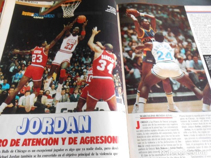 Coleccionismo deportivo: REVISTA BASKET 16, Nº 17 (31 de Enero de 1988), NBA: BATALA CAMPAL EN CHICAGO - Foto 5 - 211557487