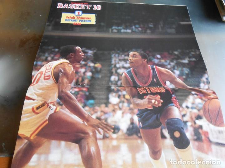 Coleccionismo deportivo: REVISTA BASKET 16, Nº 17 (31 de Enero de 1988), NBA: BATALA CAMPAL EN CHICAGO - Foto 6 - 211557487